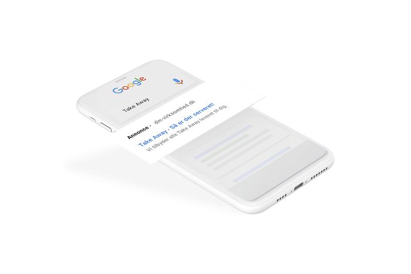 Take away google